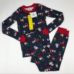 Hanna Andersson Christmas 100% Cotton Pajamas